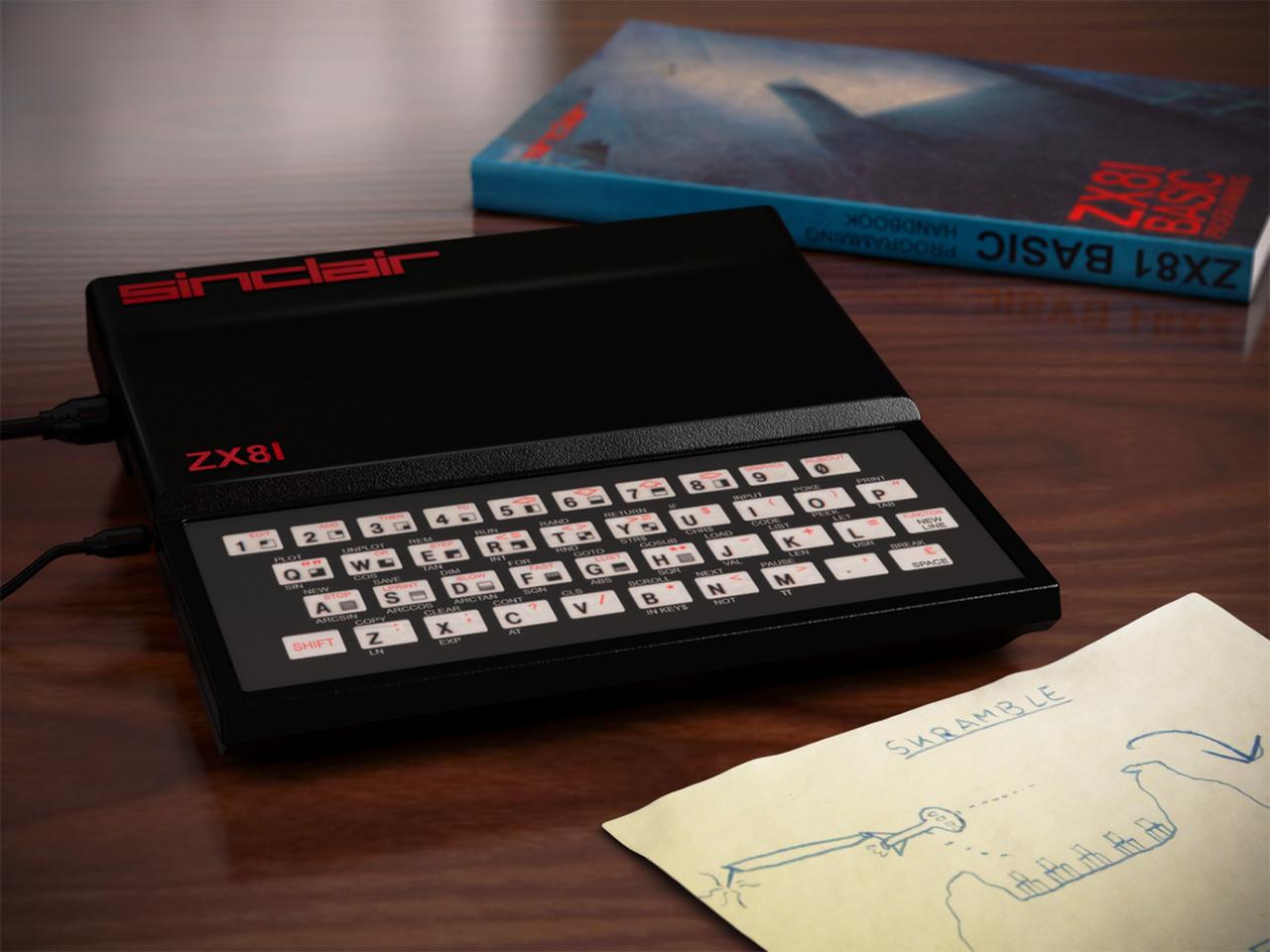 Der ZX81 des britischen Herstellers Sinclair. (Bild: René Achter, 3DPeek)