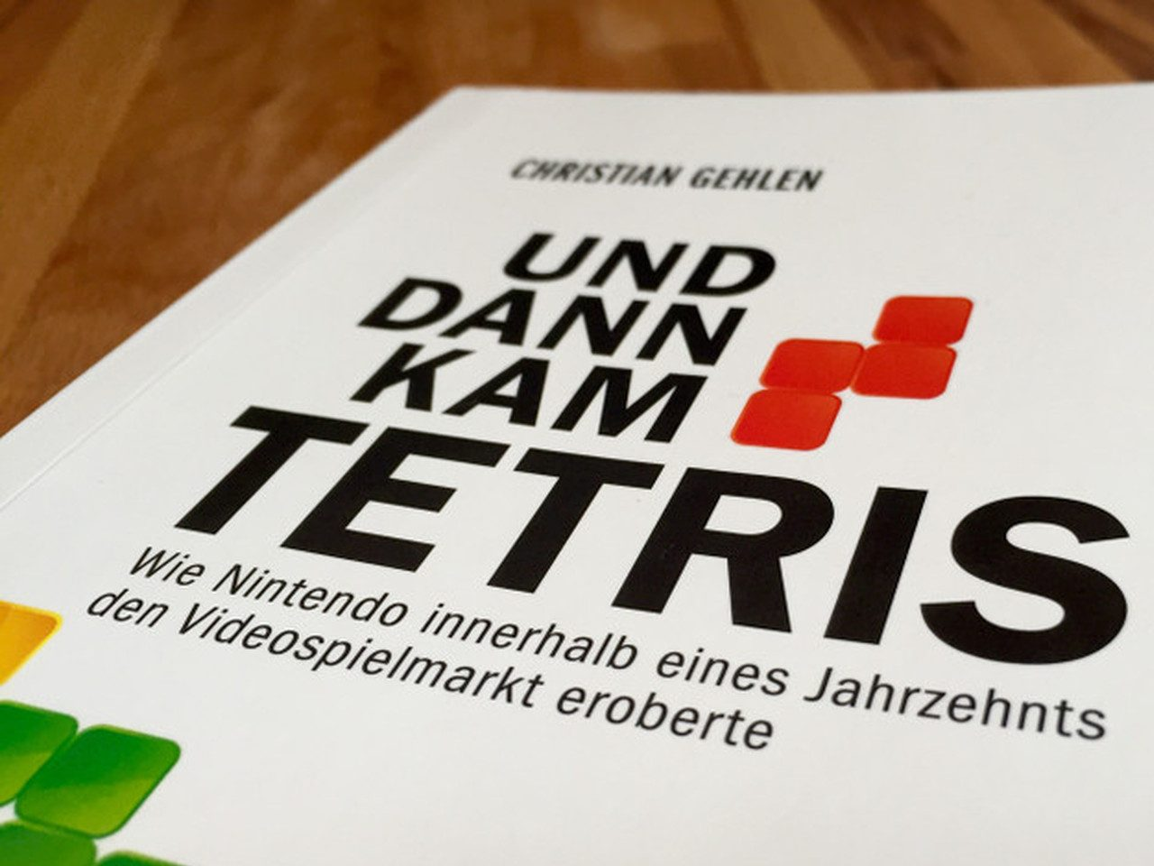 """Das Buchcover von """"Und dann kam Tetris"""". (Bild: André Eymann)"""