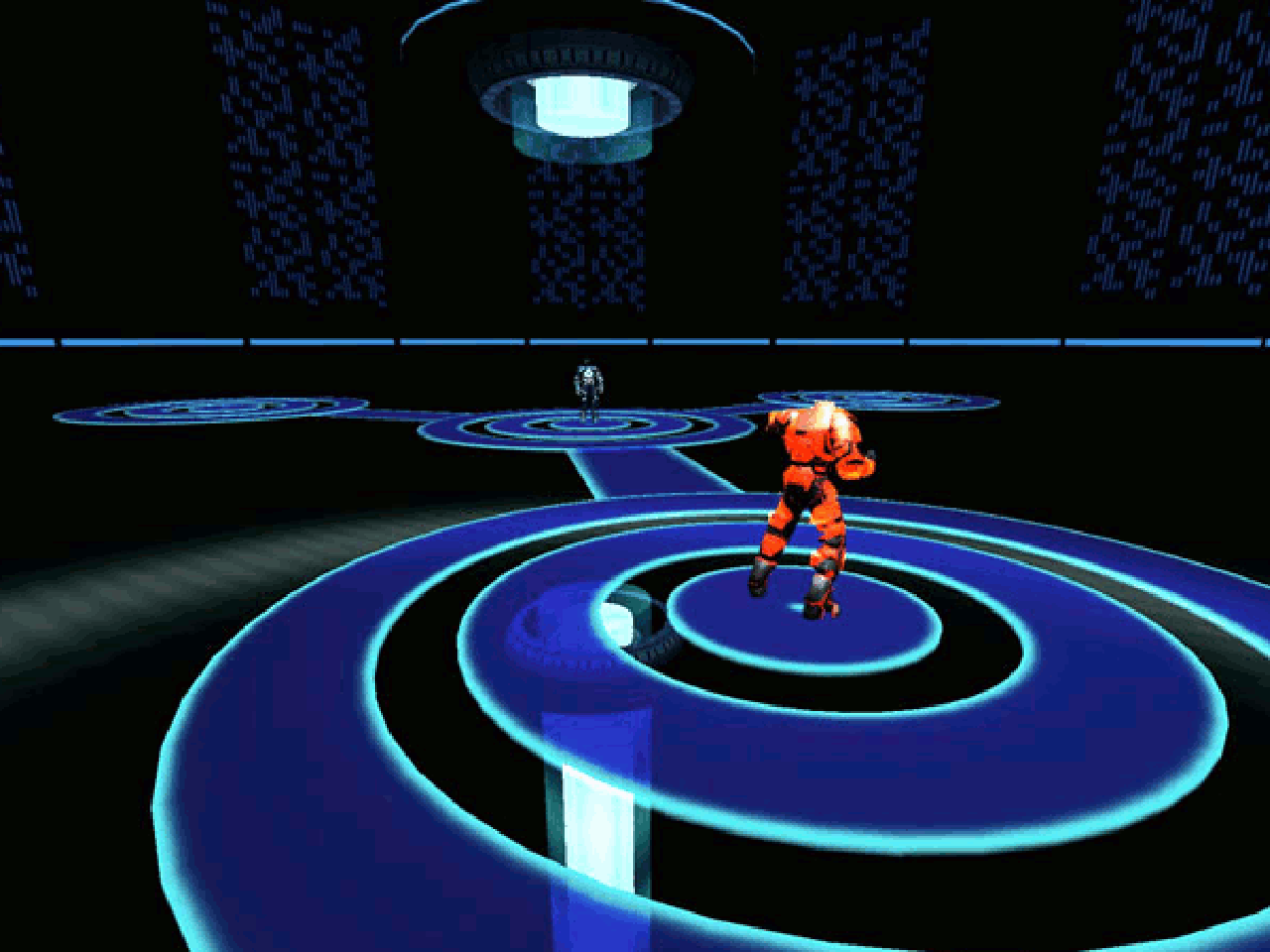 Screenshot von Tron 2.0. (Bild: Andre Eymann)