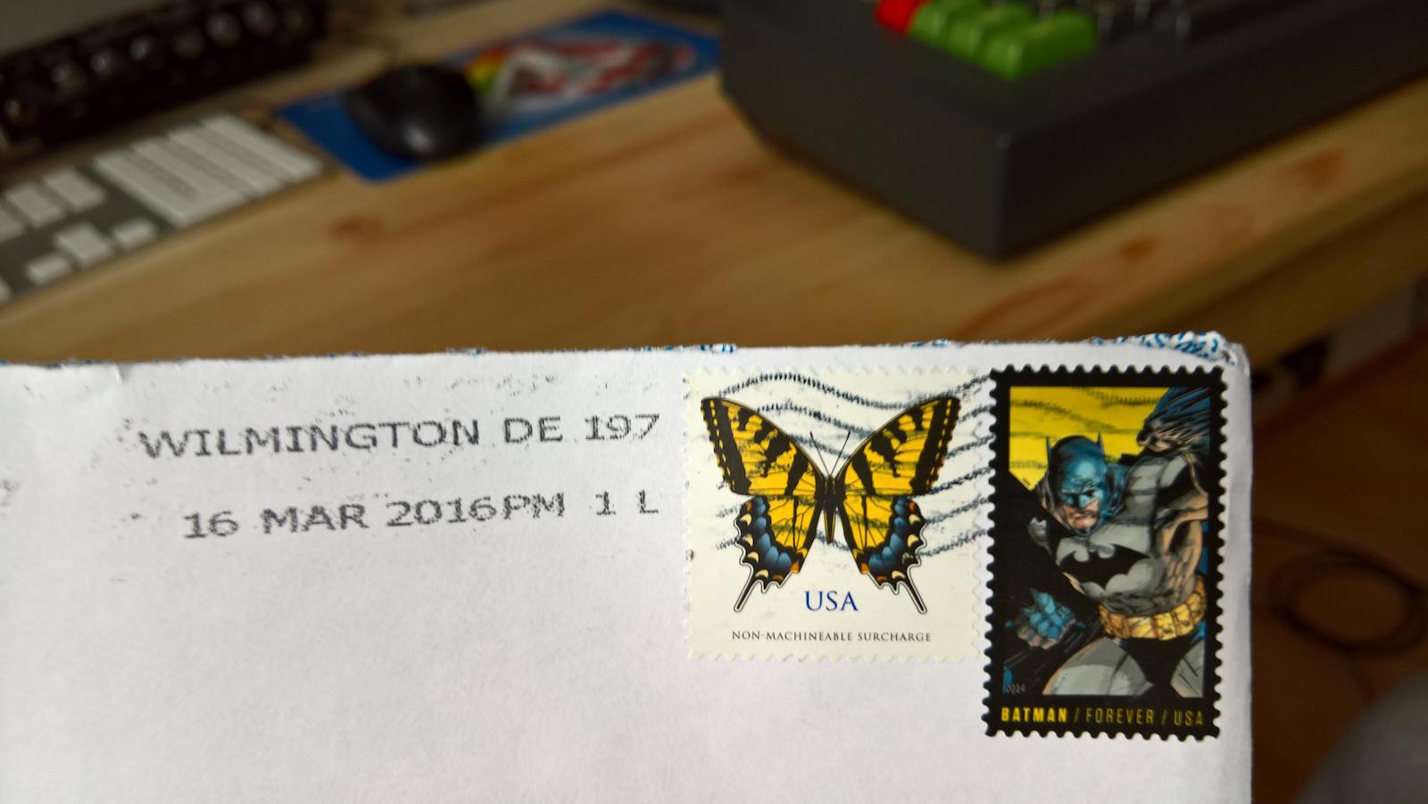 Und der Preis für die beste Briefmarke geht an... (Bild: Stefan Vogt)