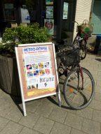 Mit dem Fahrrad zur Retro-Börse. Was will man mehr? (Bild: André Eymann)