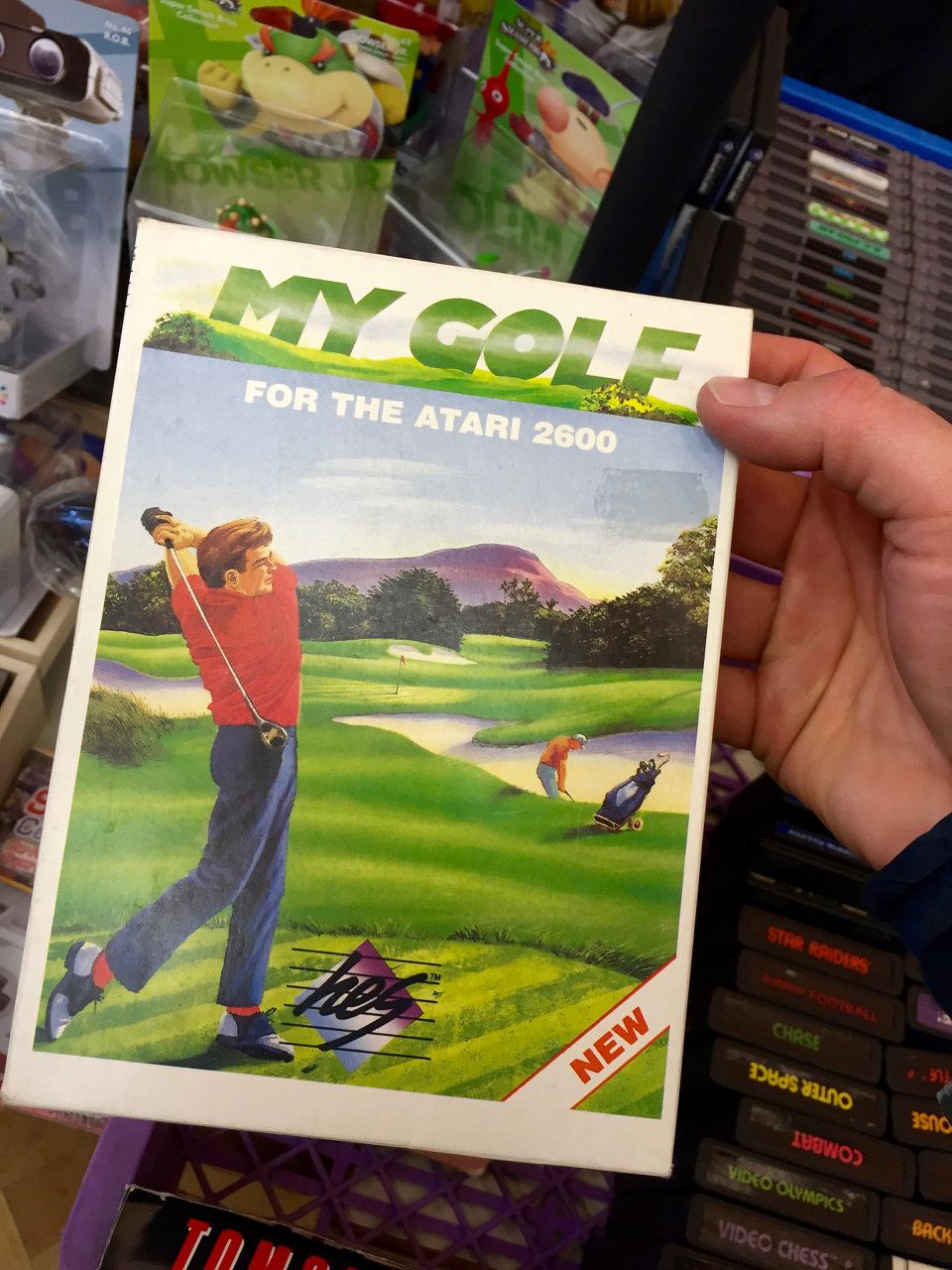 My Golf für das Atari VCS von HES - Home Entertainment Suppliers. (Bild: André Eymann)