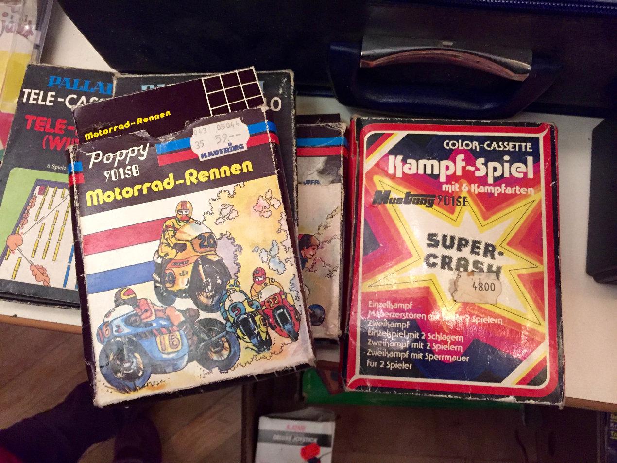 Poppy Motorrad-Rennen und Kampf-Spiel mit 6 Kampfarten. (Bild: André Eymann)
