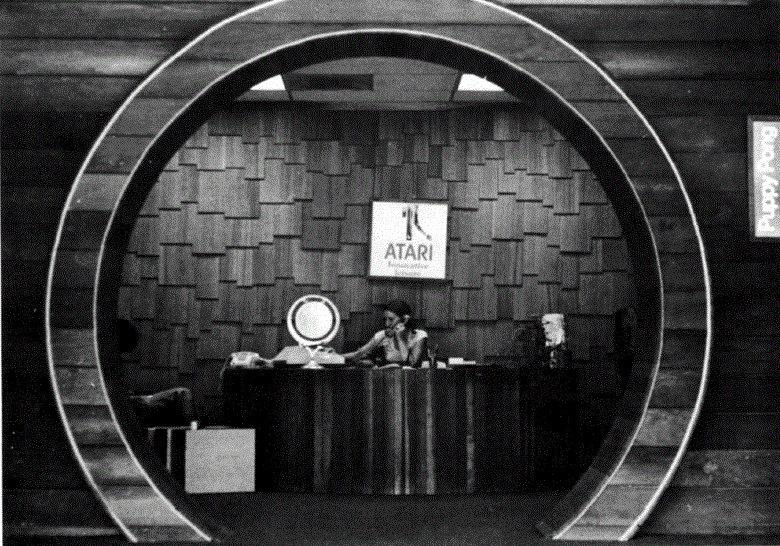 Der Eingang der Atari Hauptzentrale in Los Gatos, 1975. (Bild: The Golden Age Arcade Historian)