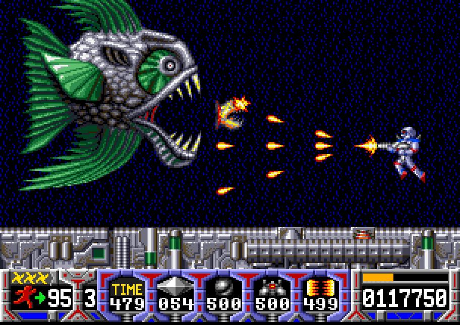 Turrican auf dem Amiga. (Bild: hardcoregaming101.net)