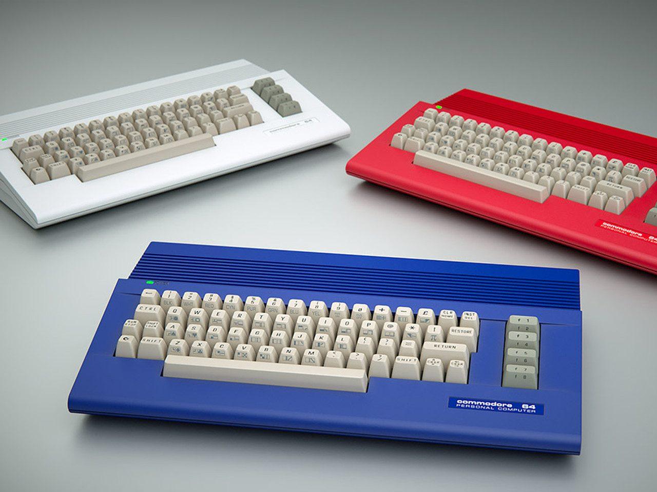 Neue C64 Gehäuse (Bild: Dallas Moore)