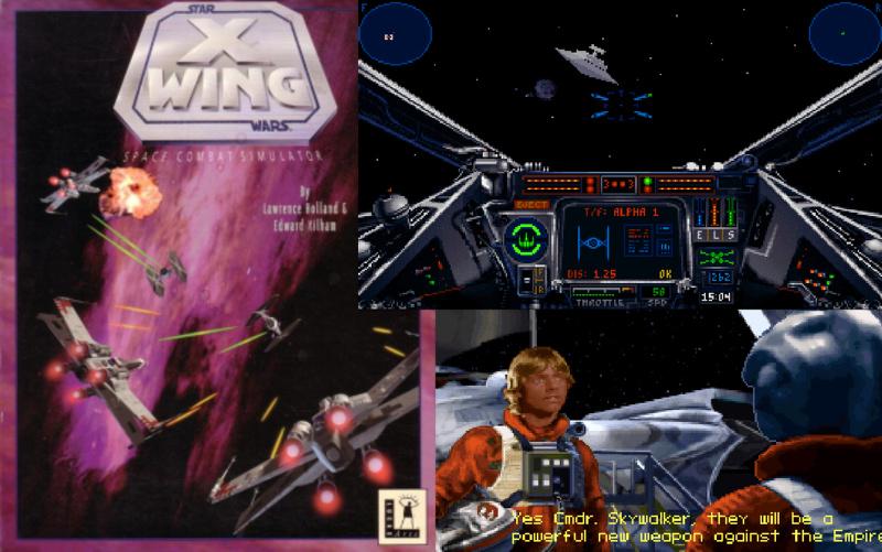 X-Wing von Lawrence Holland und Ed Kilham war eine ungemein dichte Weltraum-Flugsimulation, in der die Familiendramen der Skywalkers keine Rolle spielten, es gab einfach auch wichtigeres. Dieser Ansatz reduzierte nicht nur den auserwählten Luke zu einer mikroskopischen Gastrolle, sondern gab Spielern großzügigen Freiraum, seine eigenen Gedanken im simulierten Raumkampf zu entfalten, gewissermaßen als handelnde Person in einer weit entfernten Galaxie... (Bild: Andreas Wanda)