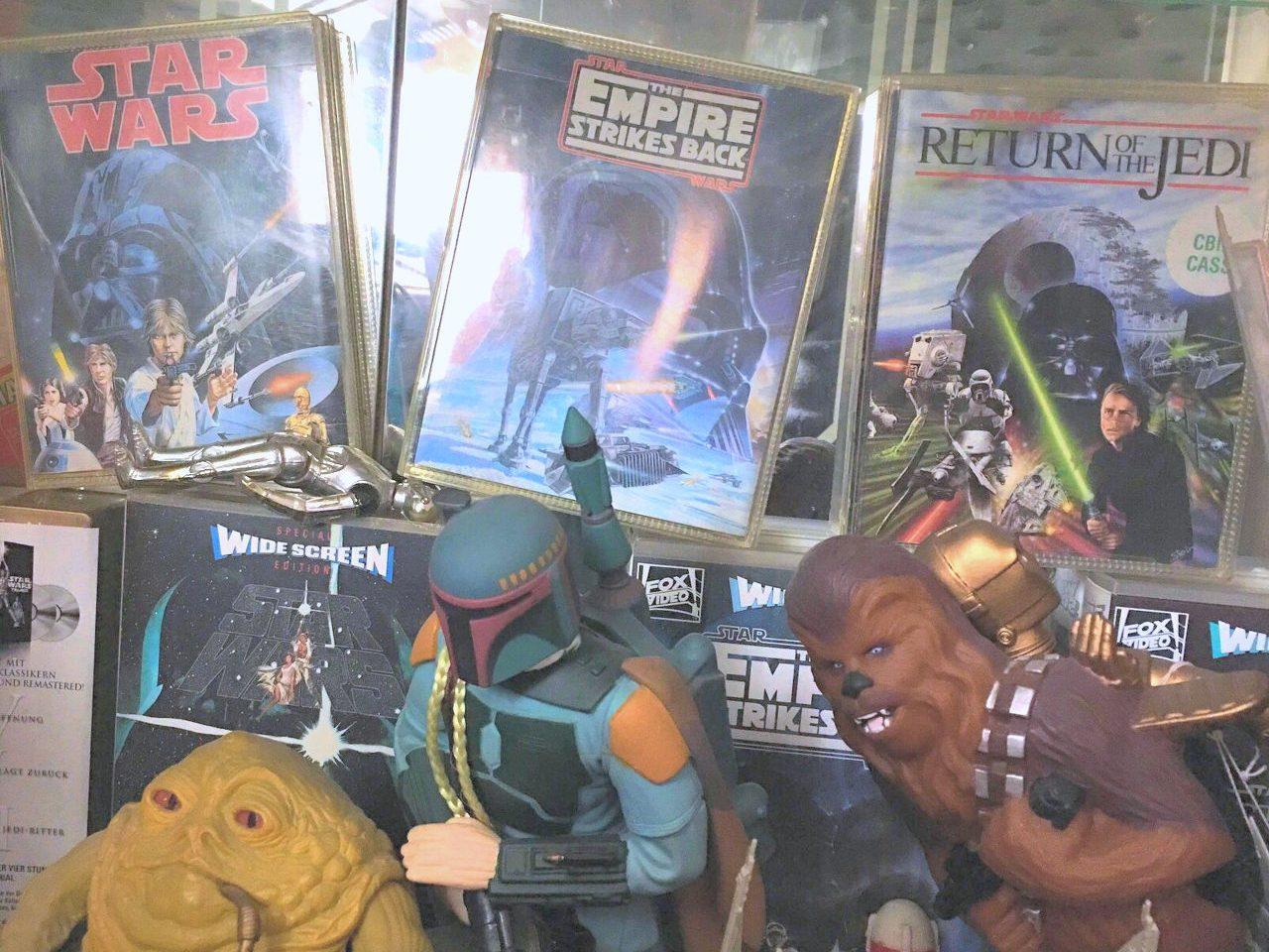 Star Wars Merchandising so weit das Auge reicht. (Bild: Andreas Wanda)