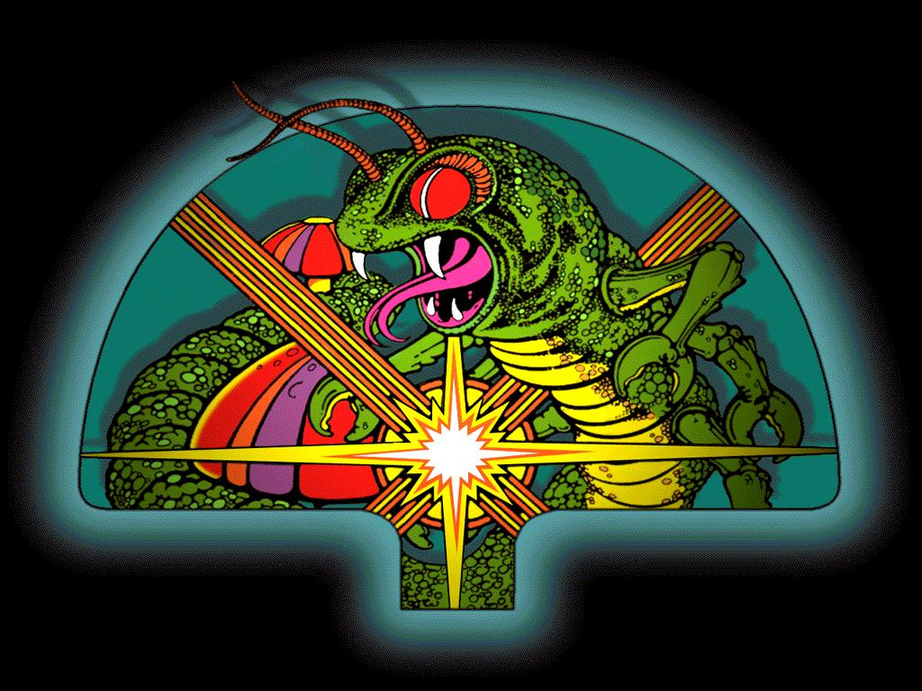 In Deuschland wurde Centipede oft auch als Tazelwurm bezeichnet. (Bild: Atari)