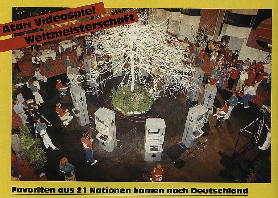 Pressefoto zur Centipede WM. (Bild: Atari)