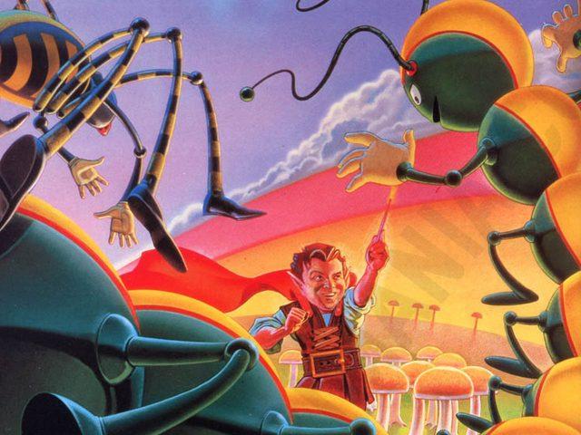 Artwork zum Videospiel Centipede. (Bild: Atari)
