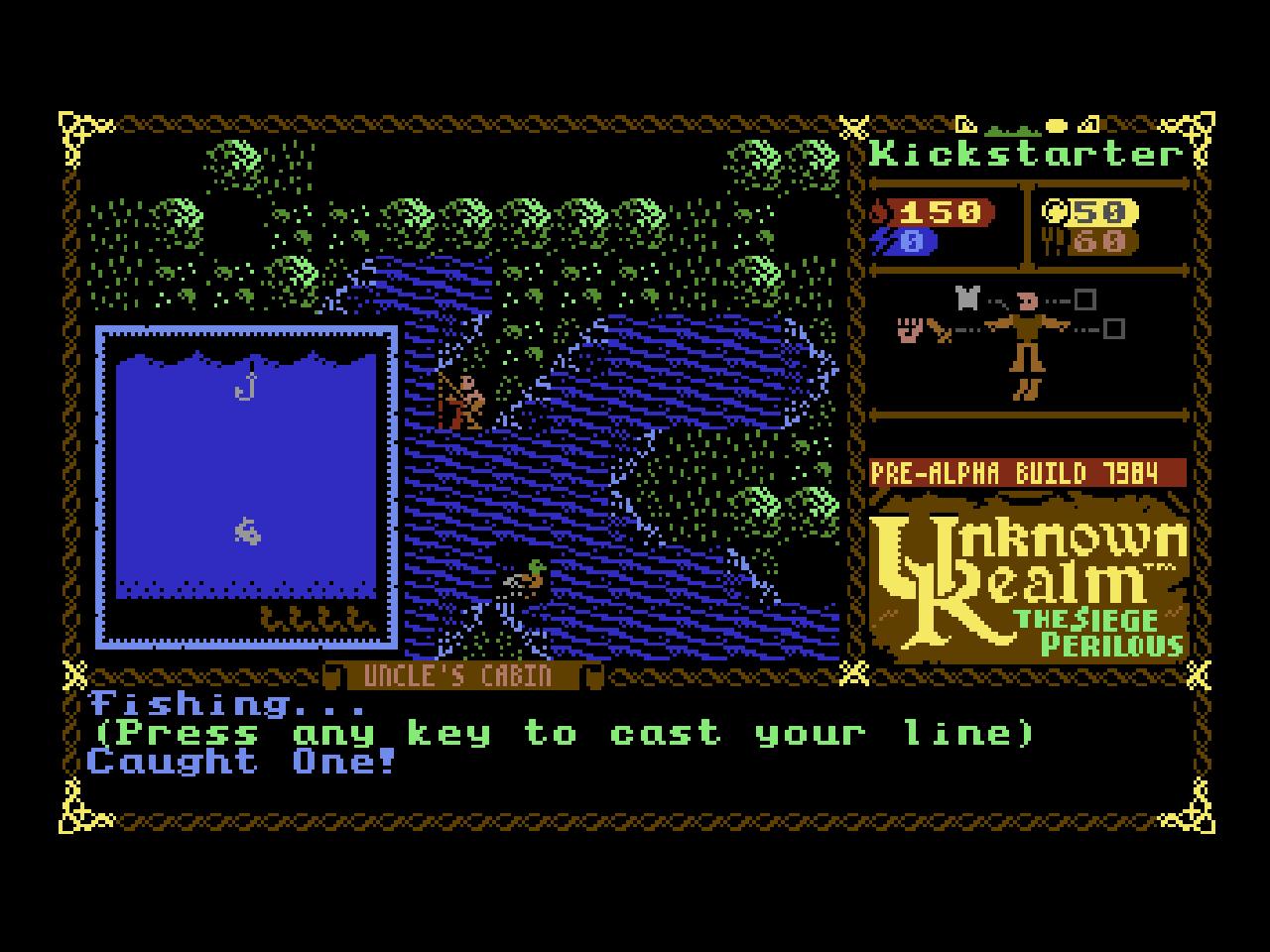 Unknown Realm ist ein 8-bit RPG von Stirring Dragon Games (Bild: André Eymann)