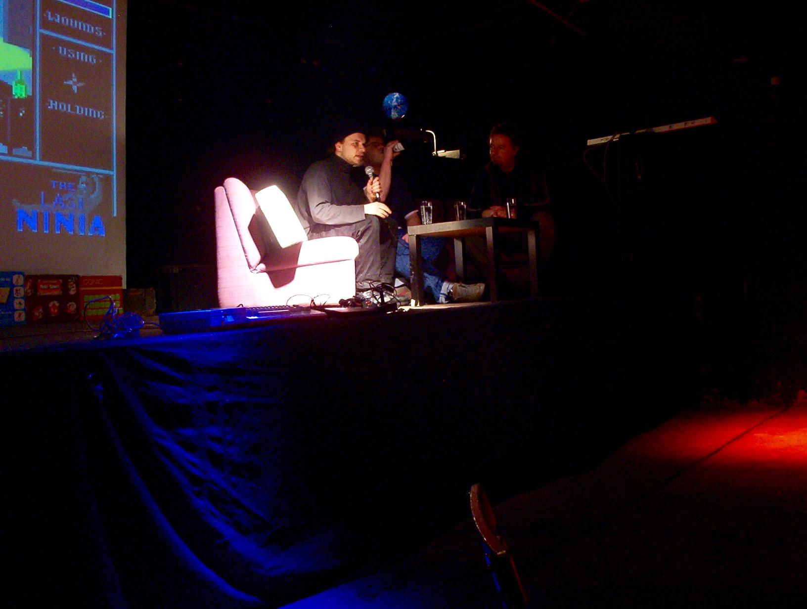 """Reinhard Klinksiek aka """"Monty Mole"""" spricht über sein Projekt """"C64 Longplays"""". (Bild: André Eymann)"""