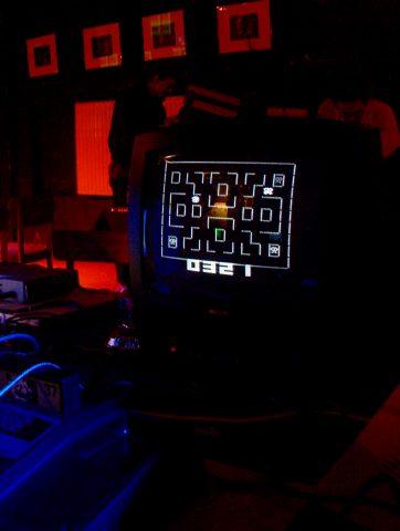 """Das Spiel """"Maze"""" auf einem Interton VC4000. (Bild: André Eymann)"""