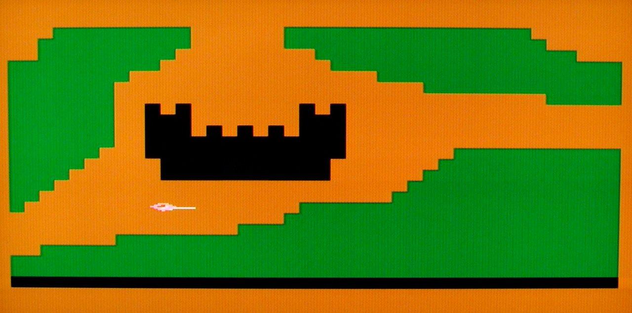Das Spiel Galahad von Douglas Crockford. Hier ist phantasievolles Kombinieren gefragt. (Bild: Vogel-Verlag)