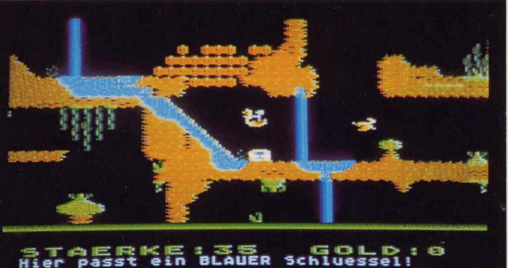Cavelord von Atari. Ein phantastisches Labyrinthspiel von Peter Finzel. (Bild: Vogel-Verlag)