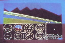 Der Flugsimulator für Commodore 64 oder Atari wird zum Spiel des Jahres gewählt. (Bild: Vogel-Verlag)