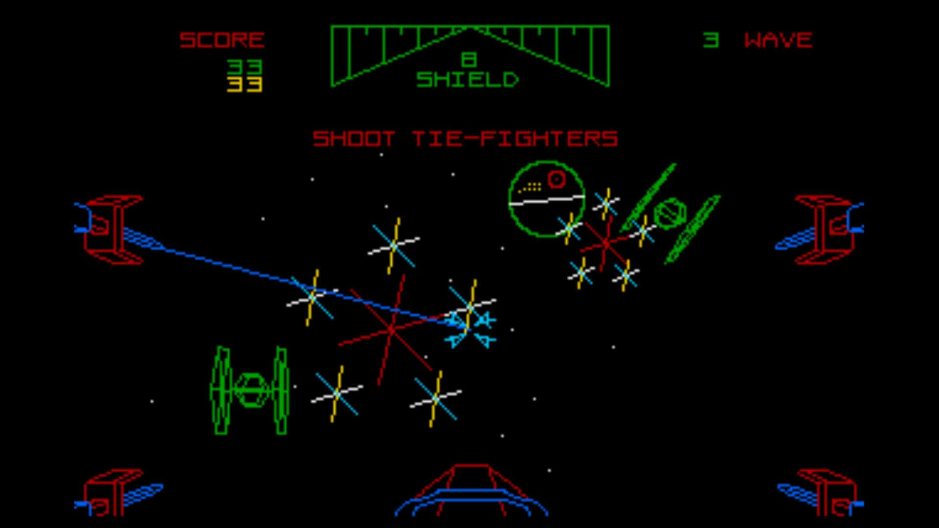 Möge die Maus mit Dir sein: Der Deutsche Jürgen Friedrich programmierte sich in der Herzen der 16-Bit User mit der frappant originalgetreuen Konvertierung des Atari Games Automaten Star Wars. (Bild: Domark)