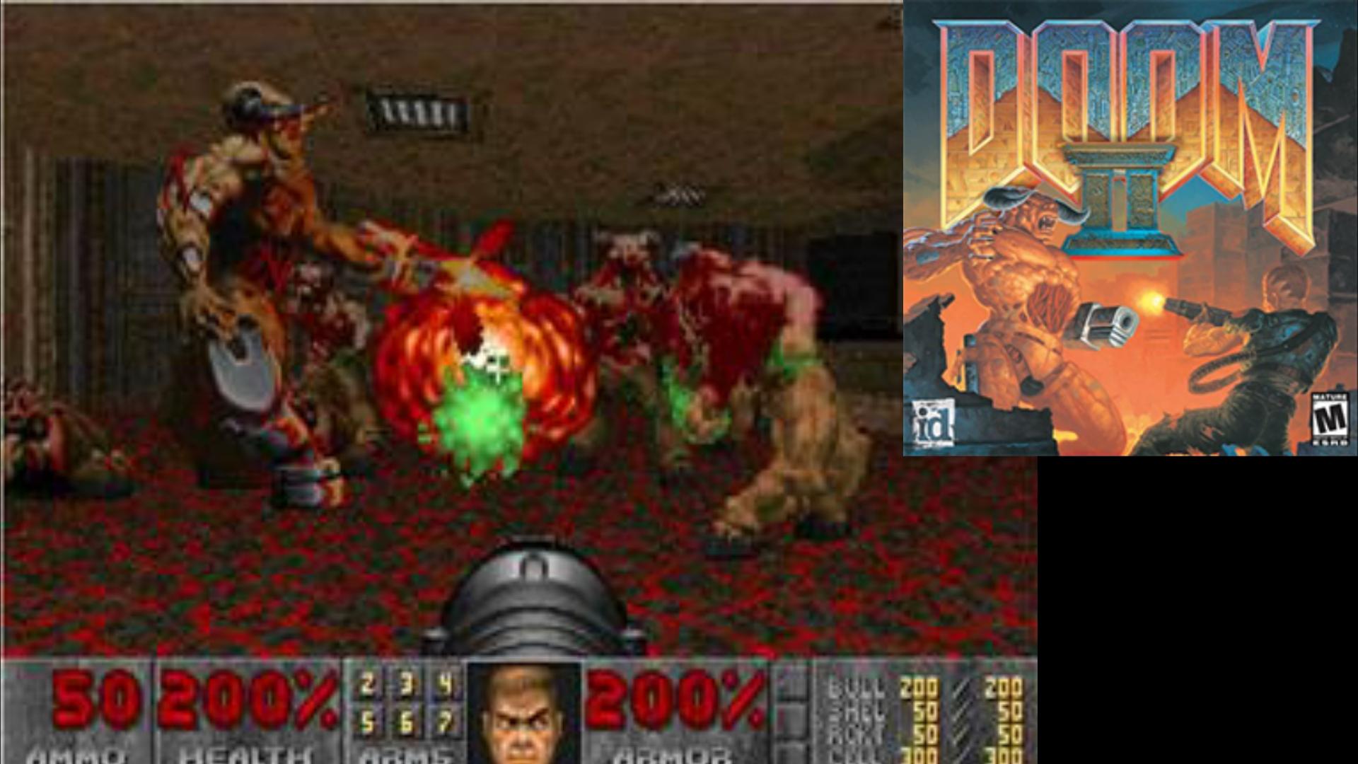 Gott sei Dank hat sich mal wieder Portal in eine andere Dimension geöffnet: neue Monster, neue Waffen, die Hölle auf Erden - ids Doom II war kein Health Pack für das Uni-Studium. (Bild: id Software)
