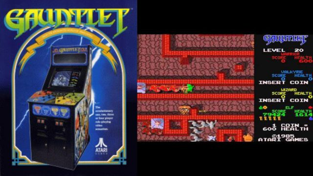 Für eine Handvoll Jettons: Unsterblichkeit in Gauntlet. (Bild: Atari Games, 1985)