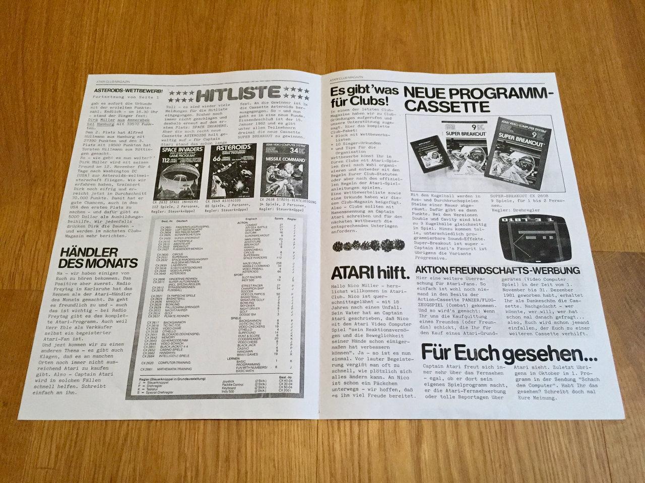 Der Inhalt der ersten Ausgaben glich einem Schülermagazin. (Bild: André Eymann)