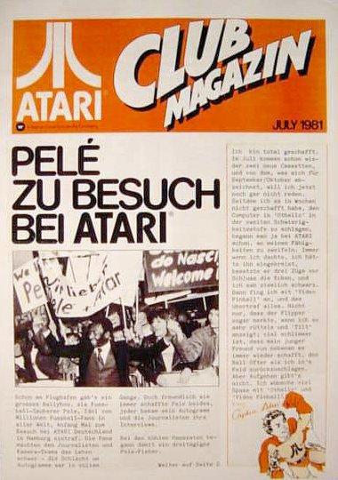 Ausgabe vom Juli 1981. (Bild: Atari)