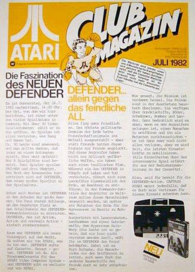 Ausgabe vom Juli 1982. (Bild: Atari)