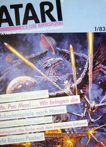 Ausgabe vom Januar 1983. (Bild: Atari)