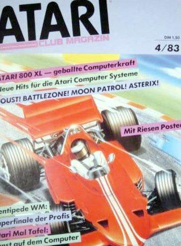 Ausgabe vom April 1983. (Bild: Atari)
