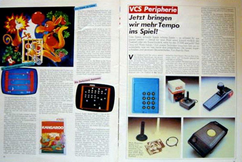 Auch wurde neue Hardware vorgestellt. In der Ausgabe vom März 1983 wird näher auf das Atari Joystick-Reparaturset eingegangen. (Bild: Atari)