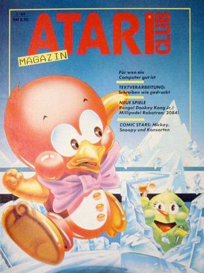 Ausgabe vom Januar 1984. (Bild: Atari)