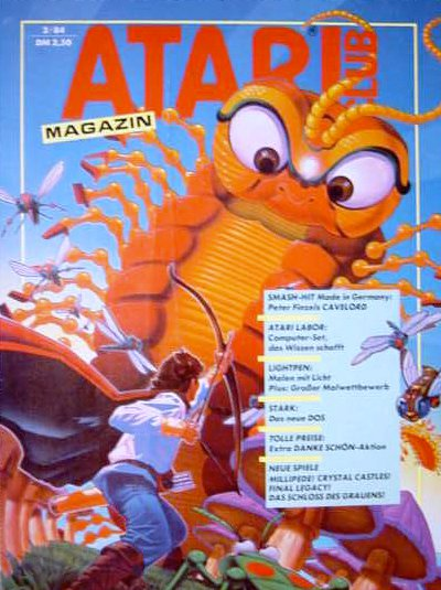 Ausgabe vom Februar 1984. (Bild: Atari)