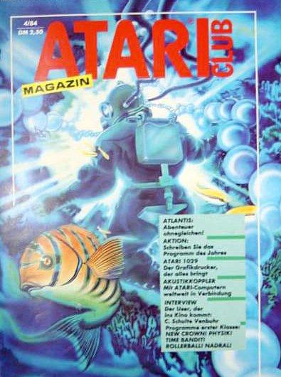 Ausgabe vom April 1984. (Bild: Atari)