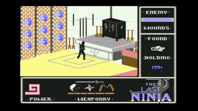 Fast geschafft: The Last Ninja. (Bild: System 3, 1987)