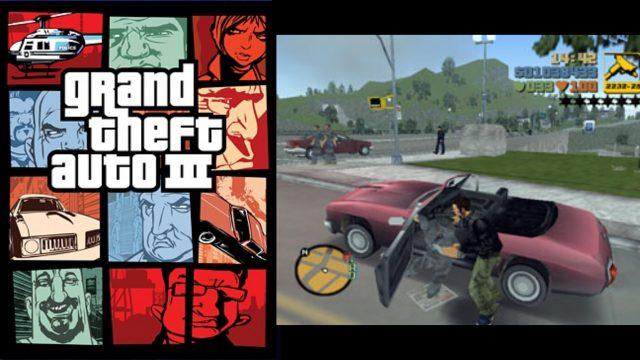 Spielstand in der Garage parken: Grand Theft Auto III. (Bild: Rockstar Games, 2001)