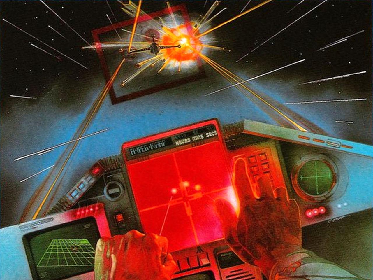 Eine Abbildung zu Star Raiders, einem Weltraumspiel von Atari. (Bild: Atari)