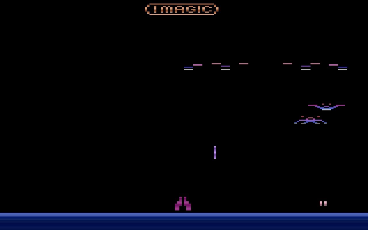 Der Alien-Shooter Demon Attack war 1982 so erfolgreich, dass er den gesamten Jahresumsatz von Imagic erwirtschaftete. (Bild: Imagic)