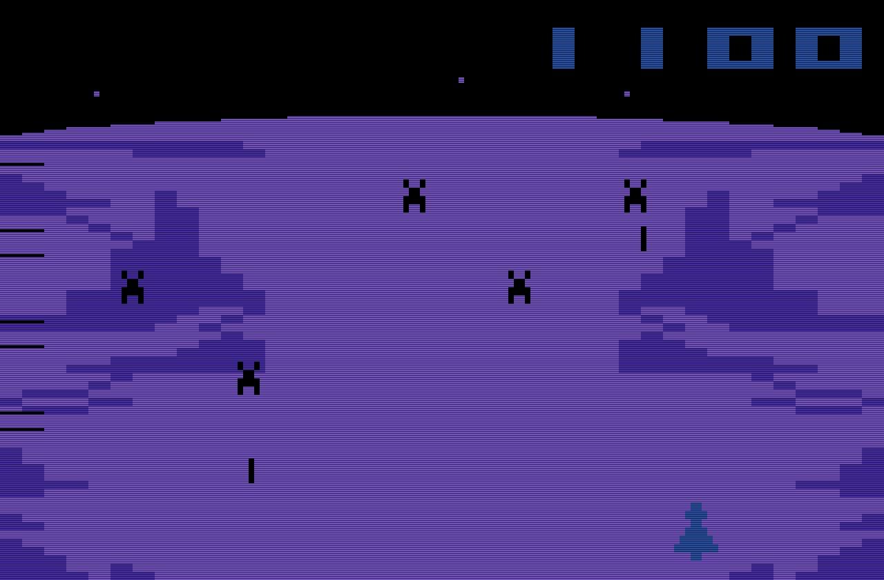 Spacechase von Games By Apollo aus dem Jahr 1981 war ein klassischer Weltraumshooter und wurde zum größten Hit für Games by Apollo. (Bild: Games by Apollo)