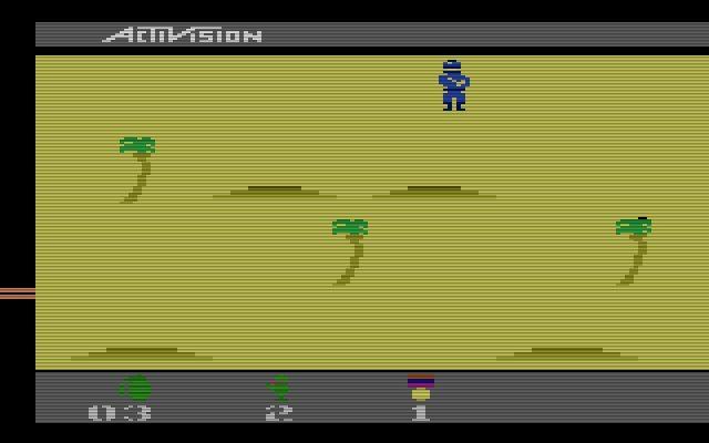 Das 1988 erschienene Action-Abenteuer Commando von Activision besticht nicht nur durch sein flüssiges Gameplay. Auch der Soundtrack wird dem Spieler nicht mehr aus dem Kopf gehen. (Bild: Activision)