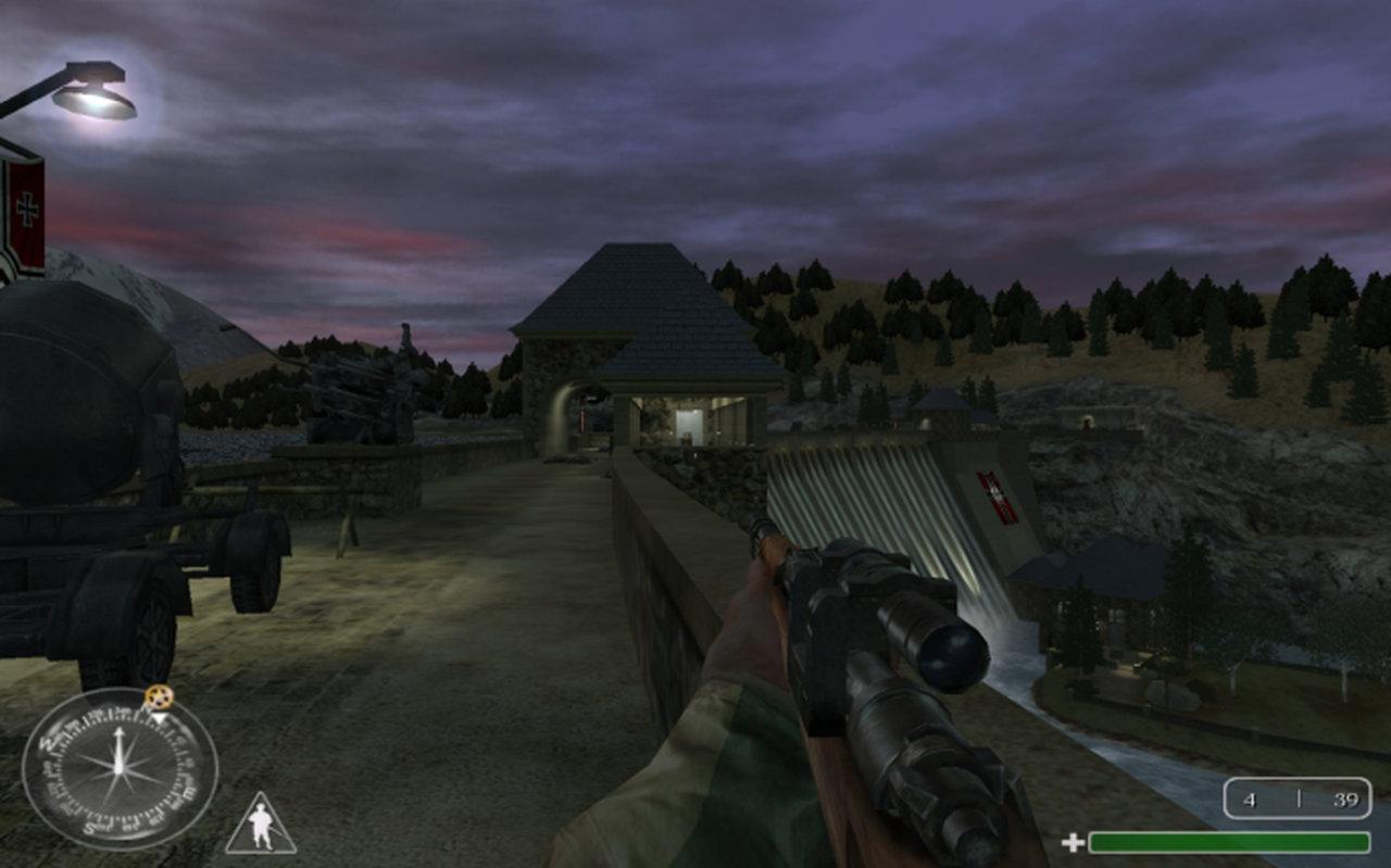 Die Edertal-Sperrmauer im Spiel Call of Duty... (Bild: Activision)