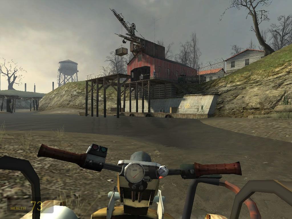 In der Kanal-Route von Half-Life 2. (Bild: Valve)