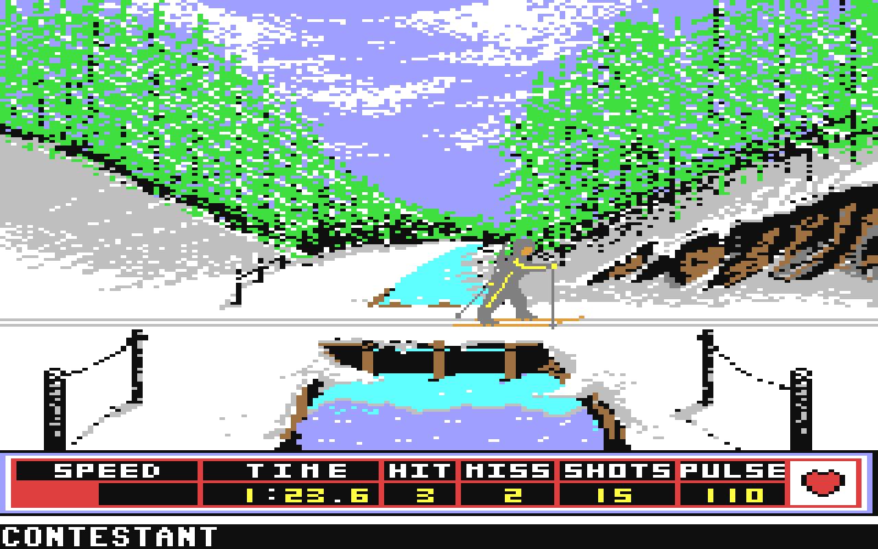 Die Epyx Sportspiel-Reihe war eine Klasse für sich. (Bild: Epyx)