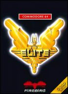Elite. Mein Lieblingsspiel auf dem C64. Das Cover von Elite gehört für mich zu den Schönsten der Videospielgeschichte. (Bild: Firebird)