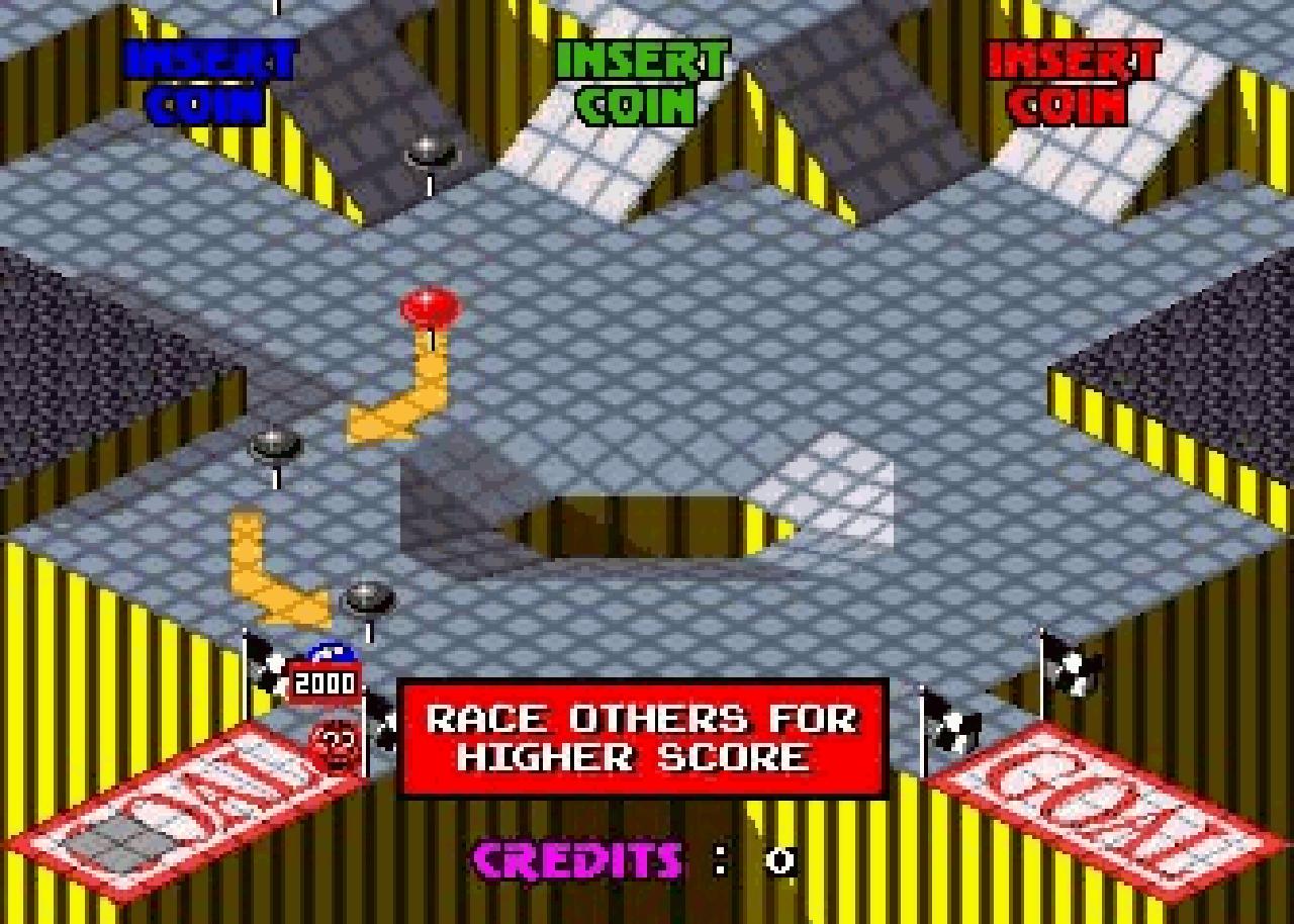 Der nie veröffentlichte Nachfolger von Marble Madness, Marble Man für bis zu drei Spieler. (Bild: Atari)