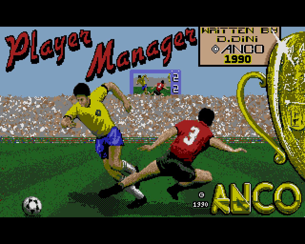 Player Manager auf dem Amiga. (Bild: Anco)