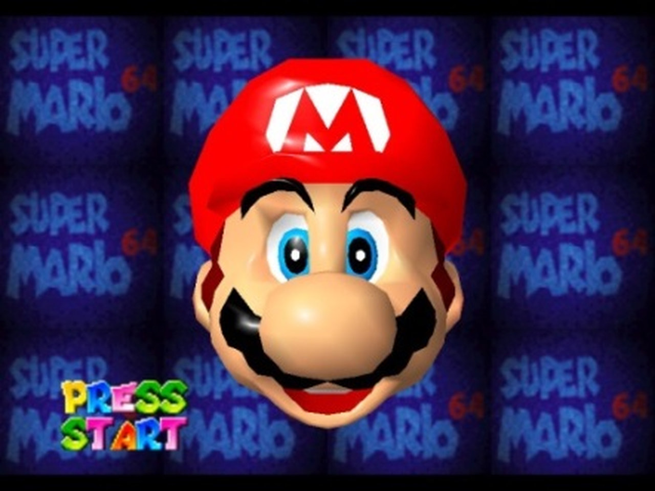 Unvergessene Momente: Der Startbildschirm mit Mario zum Anfassen. (Bild: Nintendo)