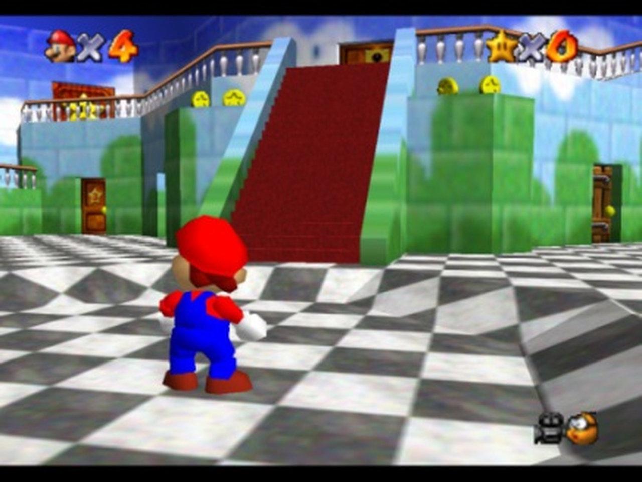 Mario im Schloss. (Bild: Nintendo)