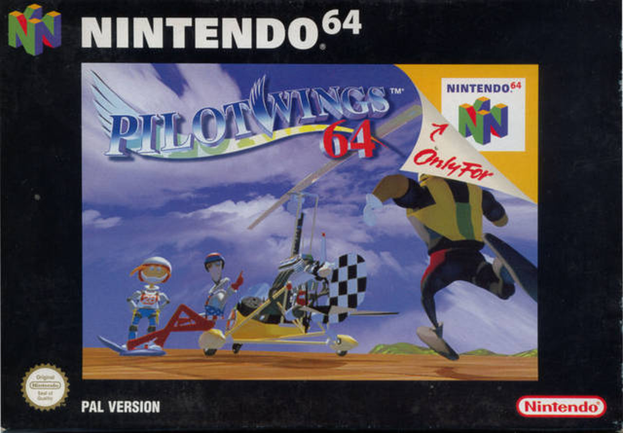 Pilotwings 64. Entspanntes Fliegen mit dem Gleitschirm... (Bild: Nintendo)