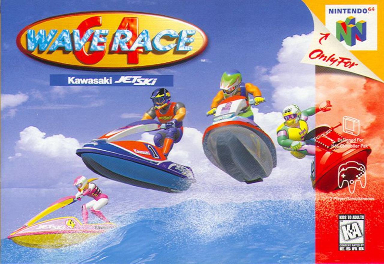 Wave Race 64 hatte es mir angetan. (Bild: Nintendo)