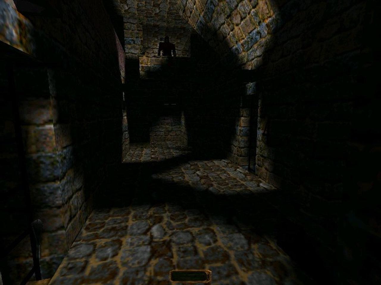 Das erste Thief. Stilles Anschleichen war ungewohnt für Quake-Gamer wie mich. Im Schatten hat sich unser Protagonist besonders wohlgefühlt. (Bild: Eidos)